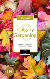 2018 October / November Calgary Gardening Magazine cover