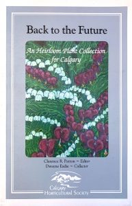 Grey and white cover will an illustration of bleeding hearts and lily-of-the-valley