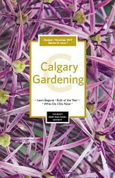 Cover October November Calgary Gardening Magazine