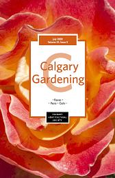 Cover June 2020 Calgary Gardening Magazine