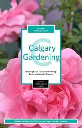 2021 June cover Calgary Gardening Magazine